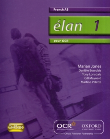 Elan 1: Pour OCR AS Students' Book, Paperback Book