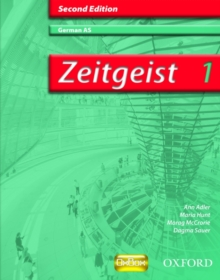 Zeitgeist: 1: AS Students' Book, Paperback Book