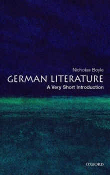 German Literature: A Very Short Introduction, Paperback Book