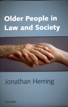 Older People in Law and Society, Hardback Book