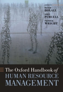 The Oxford Handbook of Human Resource Management, Hardback Book