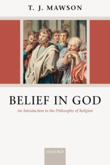 Belief in God : An Introduction to the Philosophy of Religion, PDF Book