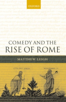 Comedy and the Rise of Rome, Paperback / softback Book