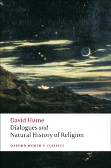 Dialogues Concerning Natural Religion, and The Natural History of Religion, Paperback Book