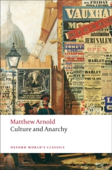 Culture and Anarchy, Paperback Book
