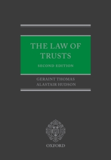 The Law of Trusts, Hardback Book