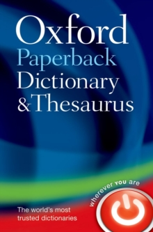 Oxford Paperback Dictionary & Thesaurus, Paperback Book