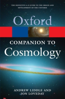 The Oxford Companion to Cosmology, Paperback Book