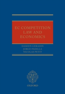 EU Competition Law and Economics, Hardback Book
