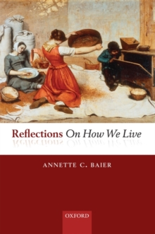 Reflections On How We Live, Hardback Book
