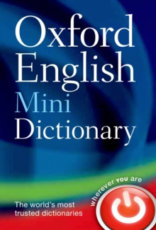 Oxford English Mini Dictionary, Paperback / softback Book