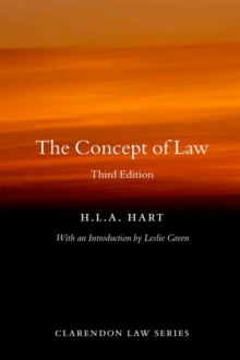 The Concept of Law, Paperback Book