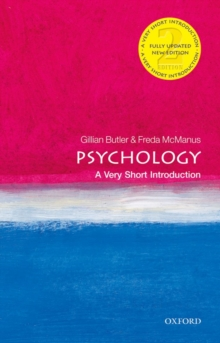 Psychology: A Very Short Introduction, Paperback Book