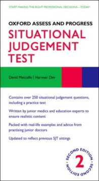 Oxford Assess and Progress: Situational Judgement Test, Paperback Book
