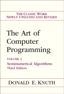 Art of Computer Programming, Volume 2 : Seminumerical Algorithms