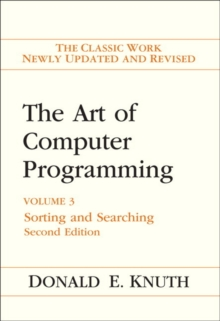 Art of Computer Programming, The : Volume 3: Sorting and Searching