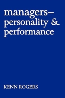 Managers : Personality and Performance, Paperback / softback Book