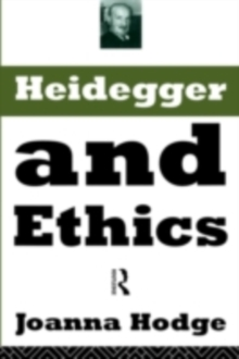Heidegger and Ethics, PDF eBook