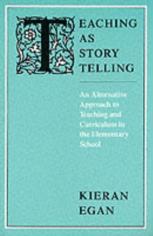 Teaching as Storytelling, Paperback Book