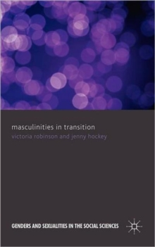 Masculinities in Transition, Hardback Book