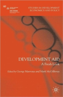 Development Aid : A Fresh Look, Hardback Book