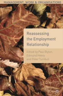 Reassessing the Employment Relationship, Paperback / softback Book