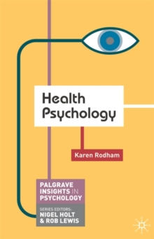 Health Psychology, Paperback Book