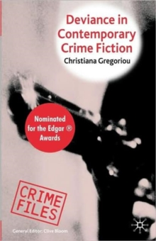 Deviance in Contemporary Crime Fiction, Paperback / softback Book