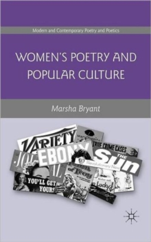 Women's Poetry and Popular Culture, Hardback Book