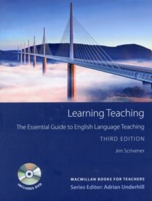Learning Teaching 3rd ed with DVD - The Essential Guide to English Language Teaching, Mixed media product Book