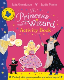 The Princess and the Wizard Activity Book, Paperback Book