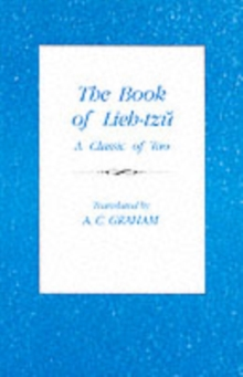 The Book of Lieh-Tzu : A Classic of the Tao, Paperback Book