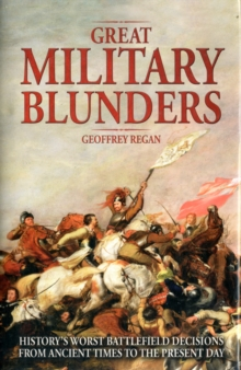 Great Military Blunders, Hardback Book