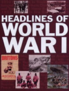 Headlines of  World War I, Paperback Book