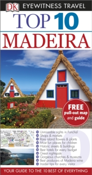 Top 10 Madeira, Paperback Book