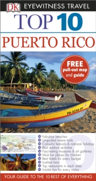 Top 10 Puerto Rico, Paperback Book