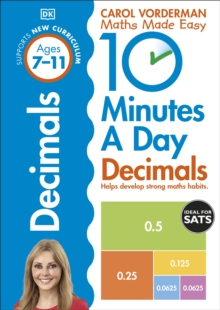 10 Minutes a Day Decimals, Paperback Book