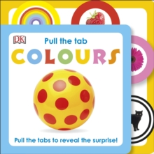 Pull the Tab Colours, Board book Book