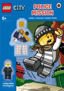 LEGO CITY: Police Mission Activity Book with Minifigure, Paperback Book