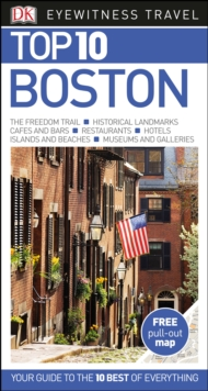 Top 10 Boston, Paperback Book