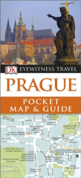 Prague Pocket Map and Guide, Paperback Book