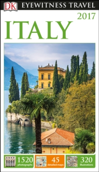 DK Eyewitness Travel Guide Italy, Paperback Book