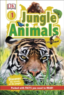 Jungle Animals, Hardback Book