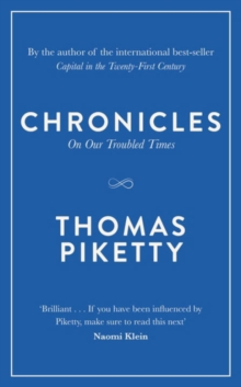 Chronicles : On Our Troubled Times, Hardback Book