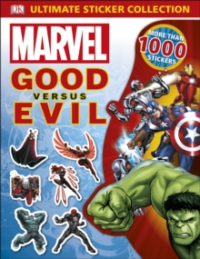 Marvel Good vs Evil Ultimate Sticker Collection, Paperback Book