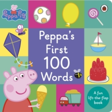 Peppa Pig: Peppa's First 100 Words, Board book Book
