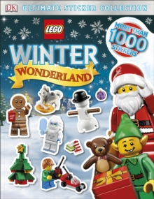 LEGO Winter Wonderland Ultimate Sticker Collection, Paperback Book