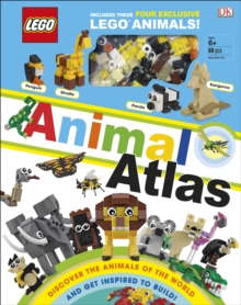 LEGO Animal Atlas : with four exclusive animal models, Hardback Book