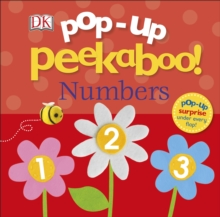 Pop-Up Peekaboo! Numbers, Board book Book