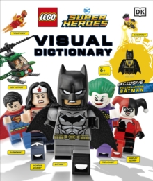 LEGO DC Comics Super Heroes Visual Dictionary : With Exclusive Yellow Lantern Batman Minifigure